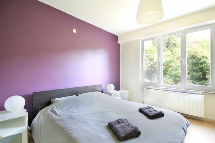 Spacious & light 2 bedroom apartment with garden - Antwerpen