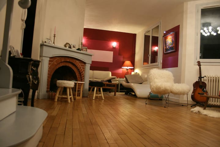 Lovely Cottage 35 mn far from Paris - Verneuil-sur-Seine - Casa