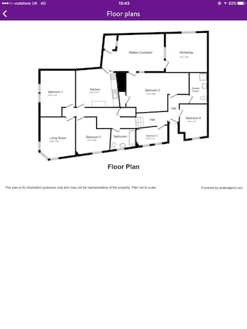 Newly refurbished 5 bed apartment. - Dalkeith - 公寓