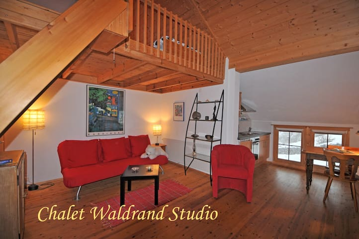 Chalet Waldrand - Merligen - Daire