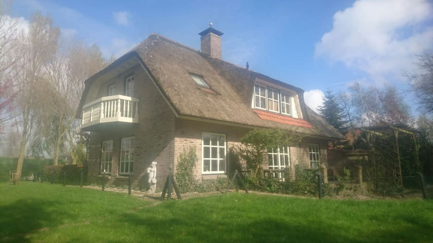 Landelijke woning met zeer ruime tuin nabij kust - Warmenhuizen - Casa