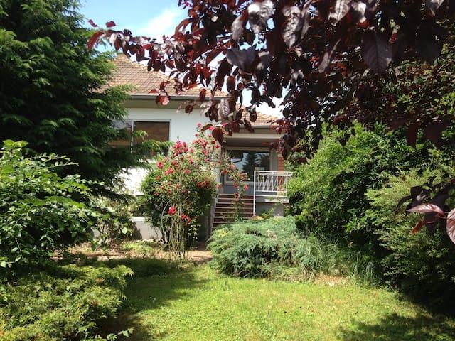 Maison de vacances au vert en Alsace - Bitschhoffen - Casa