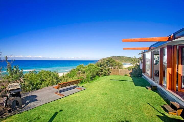 Top Renting Beach House -Middle of Boomerang Beach - Boomerang Beach - Casa