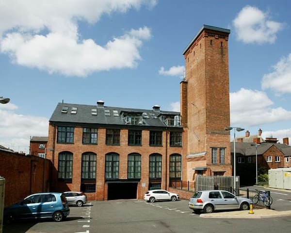 Victorian Water Tower with secure parking - Leicester - Daire