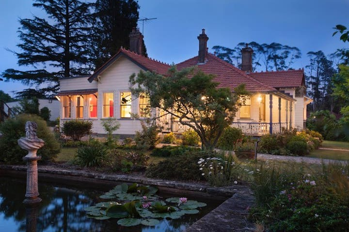 Mark Foy House - Heritage Homestay - Medlow Bath - Huis