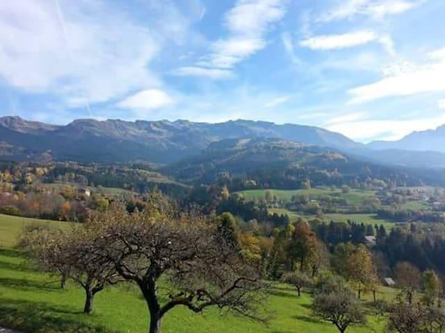 Chalet de montagne pour vacances d'été et d'hiver - Le Champ-prés-Froges - Chalet