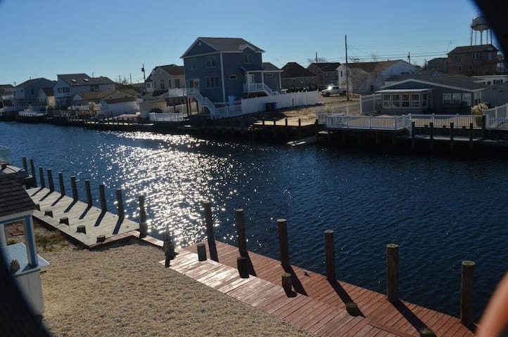 Beach Haven West house on the water - Stafford Township - Huis