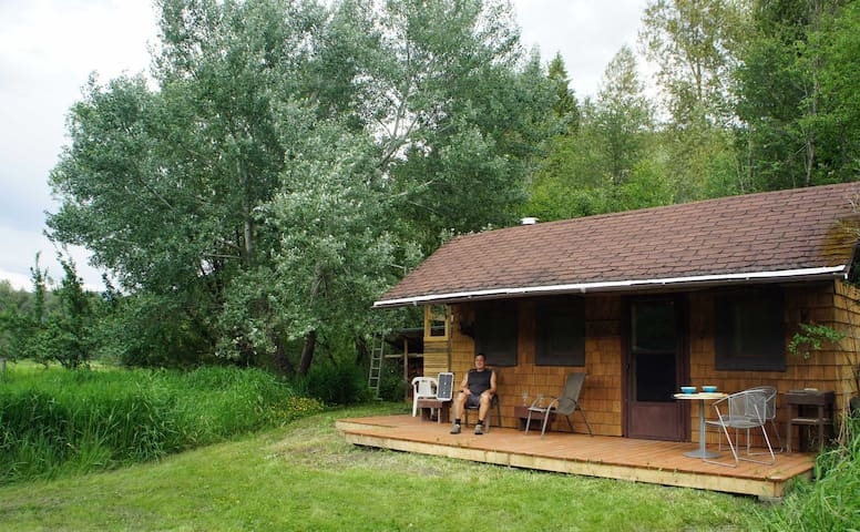 Whistling Eagle- Off Grid Cabin - Winlaw