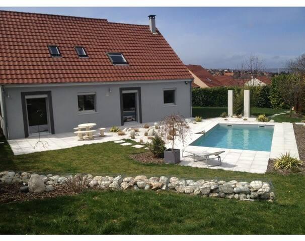 Chambre dans jolie maison au calme - Pérignat-lès-Sarliève - Ev
