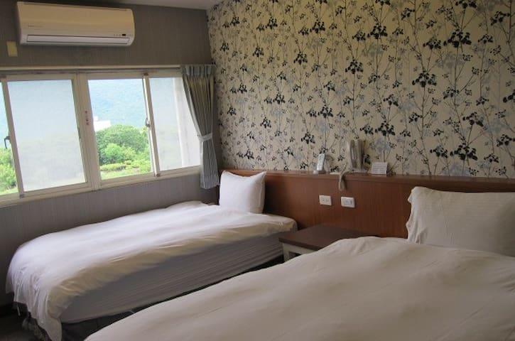 金色阳光-两小床双人房 - Xincheng Township - Minsu (Taiwan)