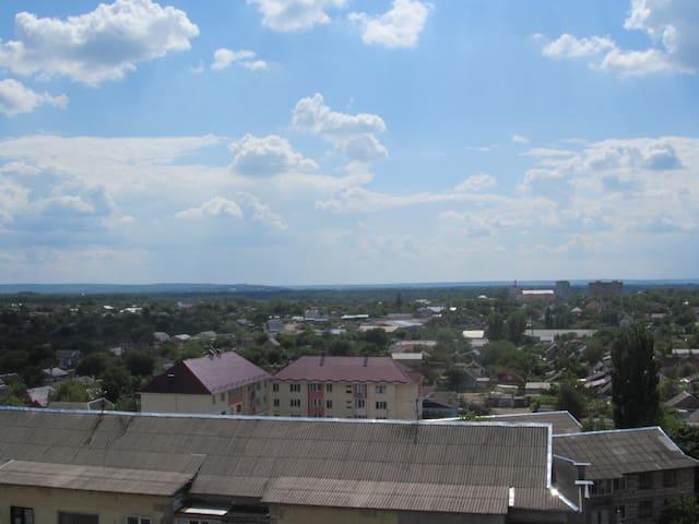 Spacious 2 bedroom apartment on 9th floor - Tiraspol - Leilighet