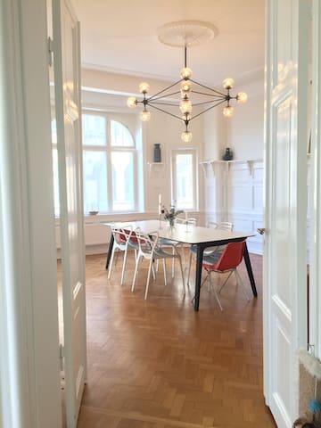 Spacious and elegant living in central of Malmö - Malmö - Departamento