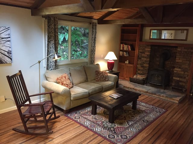 Mountain Retreat w/ Great Central Location - Scotts Valley - Casa