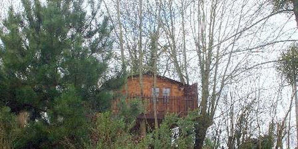 SOJAPI cabane l'écureil 2 à 3 personnes - Saint-Ouen-des-Champs - キャビン