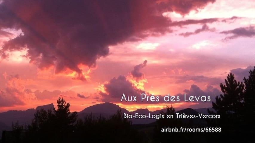 Aux Prés des Levas, bio-eco-lodge - Mens - Arazi Evi