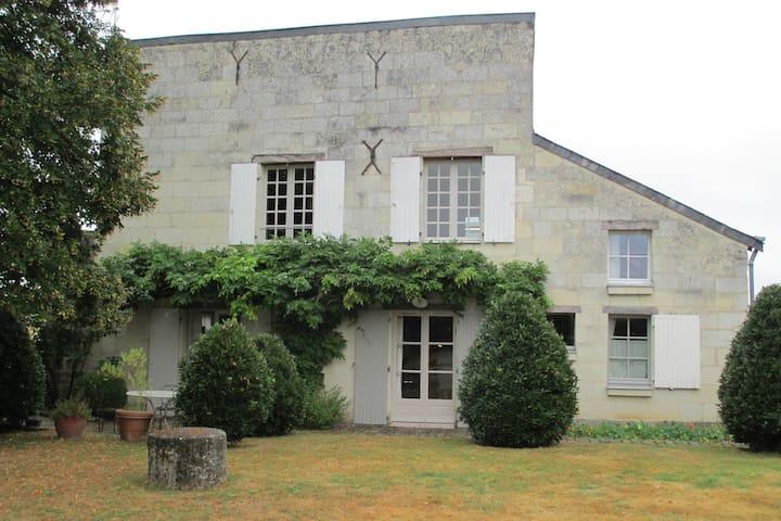 Le rez de Jardin - Villebernier - Apartamento