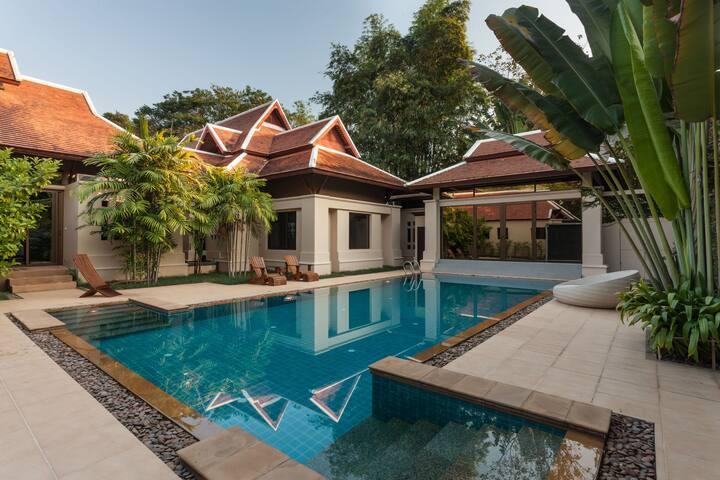 Private executive luxury villa - Tha Sala - Hus
