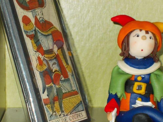 2BR 1BA Magic Nights at the Tarot Museum - Riola - Lägenhet
