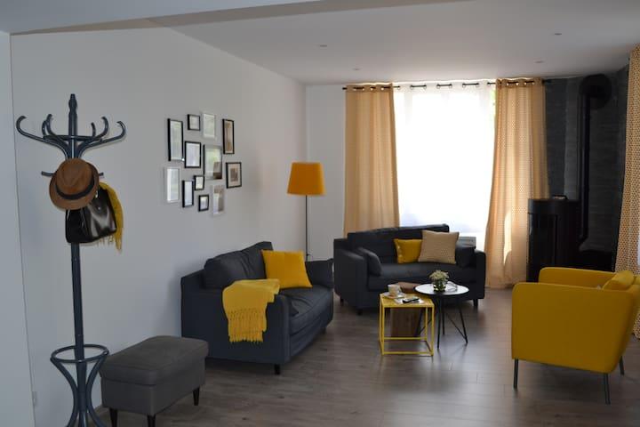Gîte au coeur de la campagne bressane - Jayat - Apartamento