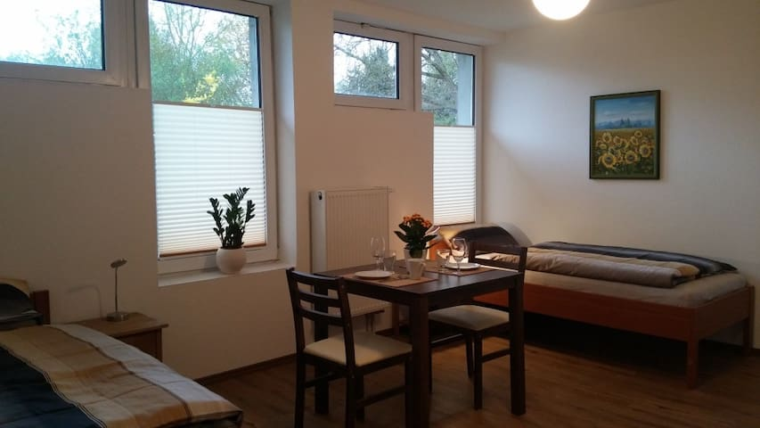 Moderne Appartments 1, je 1-2 Pers.  EZ 30€/DZ 50€ - Heuchelheim - Rumah