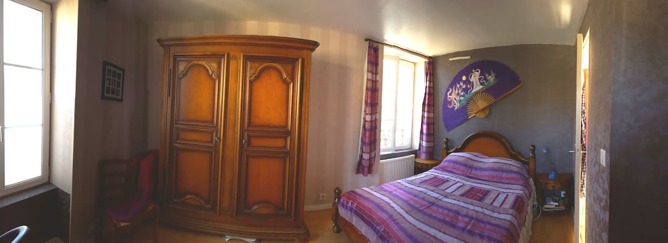 Cosy room in a quiet village in South Picardy - Rully - Huis