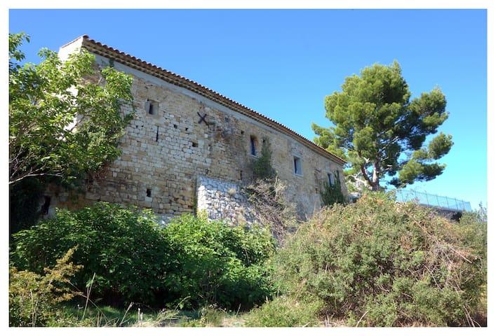 Charme, terrasse et vue en Provence! - Volx - Huis