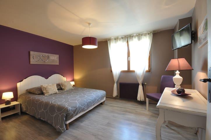 Peaceful bedroom DisneyLand Paris - Bouleurs - Bed & Breakfast