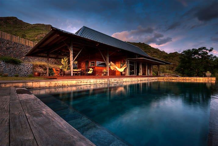 Villa bois vue panoramique Morne - Black River - Villa