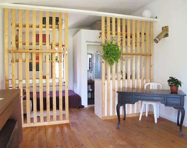 Wooden shed in rural property - Palma de Mallorca - Kabin