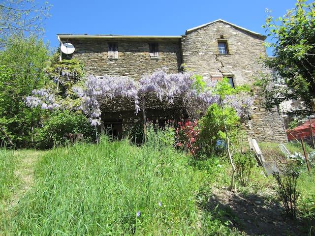 The Secret of the Rives, Typical house, Cévennes - Saint-Germain-de-Calberte - Casa