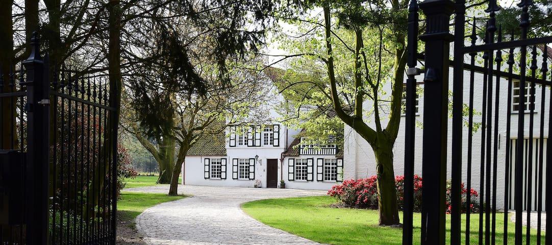 Schitterend hoevedomein in een rustige omgeving. - Oud-Turnhout - Bed & Breakfast