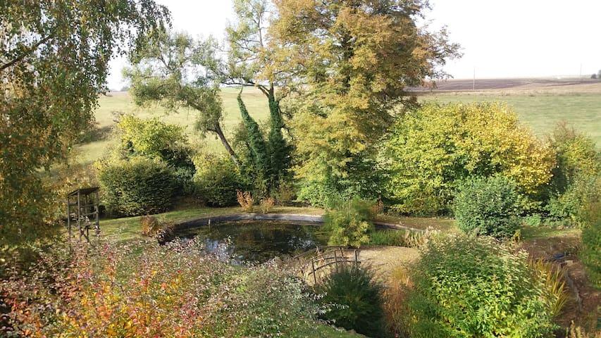 "Holiday Cottage ""Monplaisir"" - Nature & Cocooning - Walcourt - Natuur/eco-lodge"