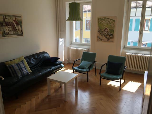 Nice 2 bedrooms and 1 living room. WIFI. - Saint-Imier - Lägenhet