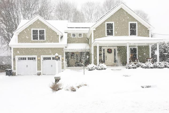 Beautiful Home In Quaint New England Village - Holliston - Hus