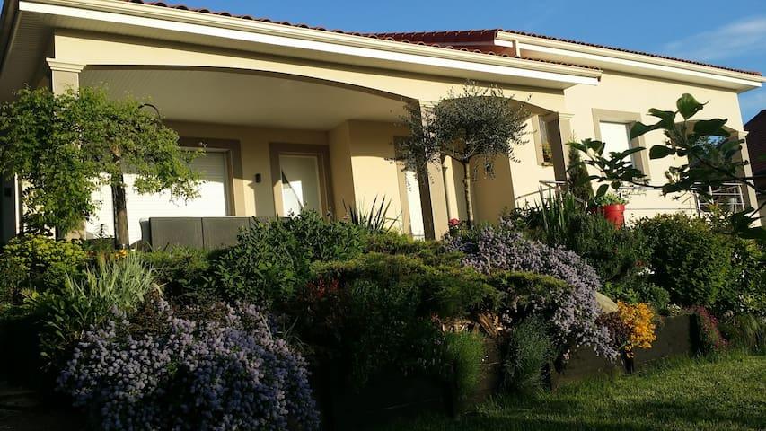 Maison des amis - Vernaison - Casa