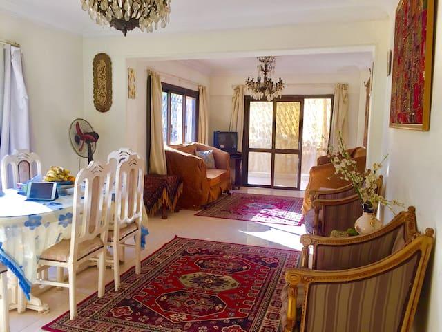 阳光舒适双床房,带有空调' - Nasr City - Appartement