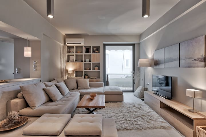 Modern stylish design apartment - Kifisia - Departamento