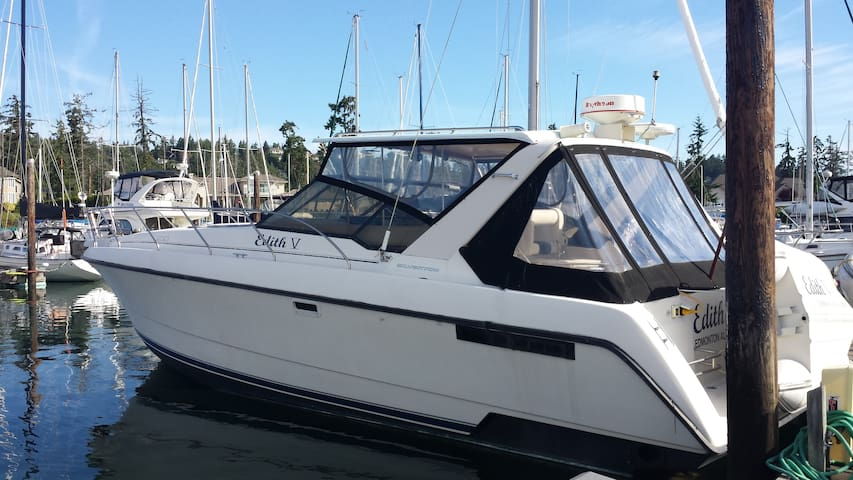 Your Private Floating Boat/Hotel Camping Experiene - North Saanich - Barco