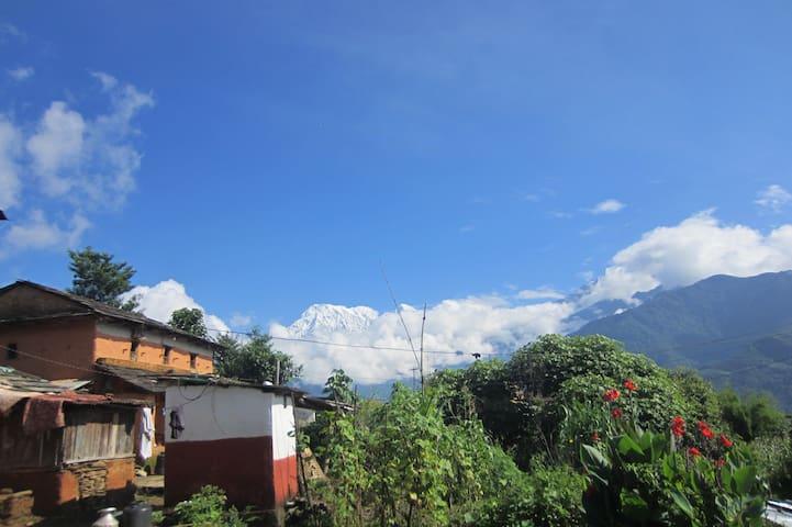 KB's Eco Mountain village house - Dhital