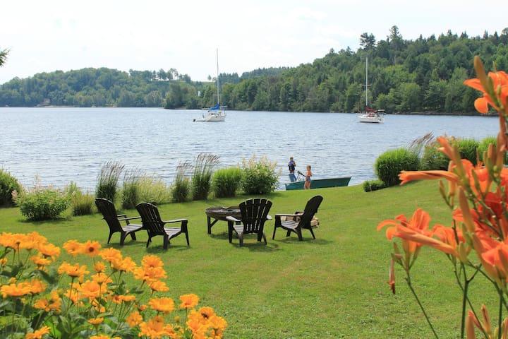 Le temps d'une pause au bord du lac Mégantic - Piopolis - Apto. en complejo residencial