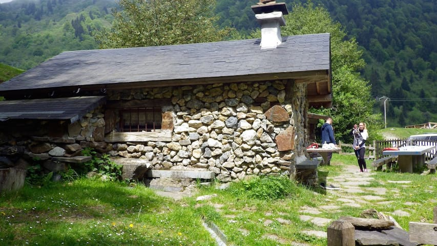 Night in the Heart of the Pyrenees - Campan - 小屋