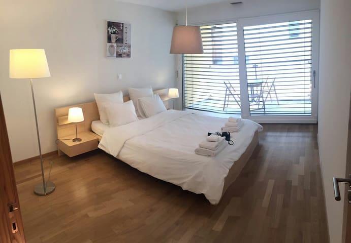 Chaleureux appartement au coeur de Martigny - Martigny - Lägenhet