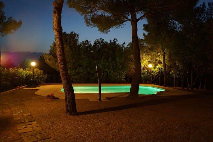 Villa Nibbiaia mit Pool - Nibbiaia - Villa