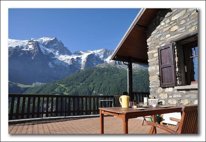 Chalet en montagne plein de charme - La Grave - Chalé