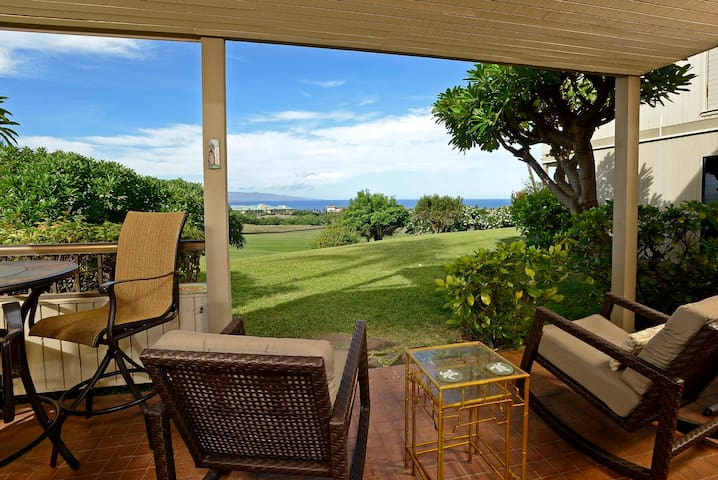 Front Row Wailea Ekolu 1 Bed - Golf & Ocean Views! - Wailea-Makena - Appartement