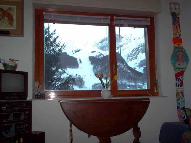 SULLE PISTE SKI DI LIMONE A QUOTA 1400 - Limone Piemonte - Appartement