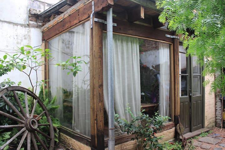 habitacion privada rodeada de jardin - Montevideo - Andre