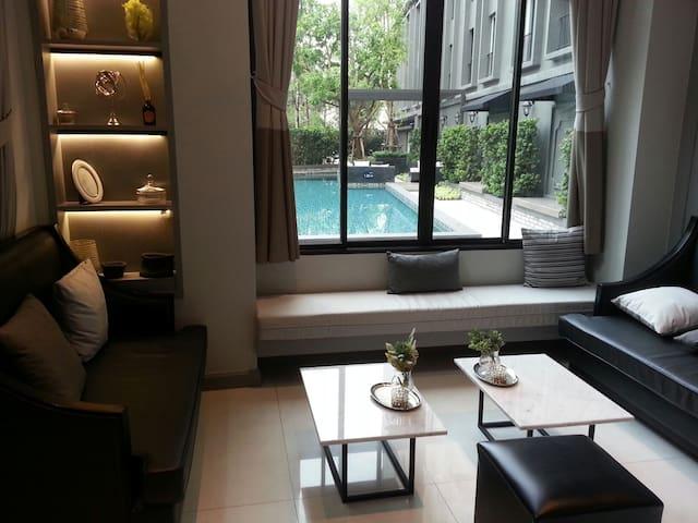 Cozy Studio Room near MRT/BTS - Jomphol Chatujak
