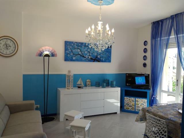 Splendido bilocale con giardino e idromassaggio - Pietra Ligure - Apartament