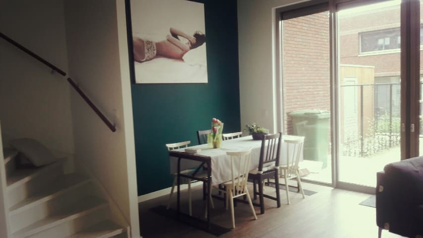 2 Bedroom House with spaceous living room Breda. - Breda - House